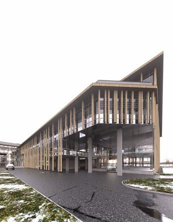 Biroju ēkas priekšlikums