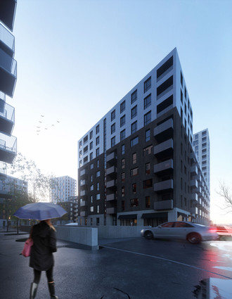 Residential project, Riga