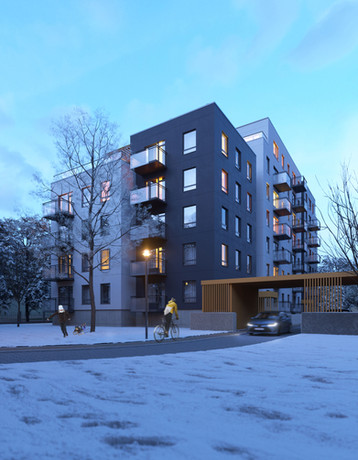 Gregora street residential complex