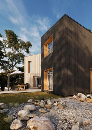 Private house in Drusti, Latvia