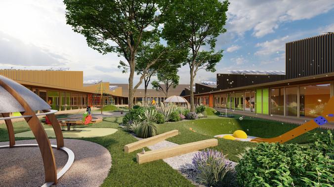 School & kindergarden project