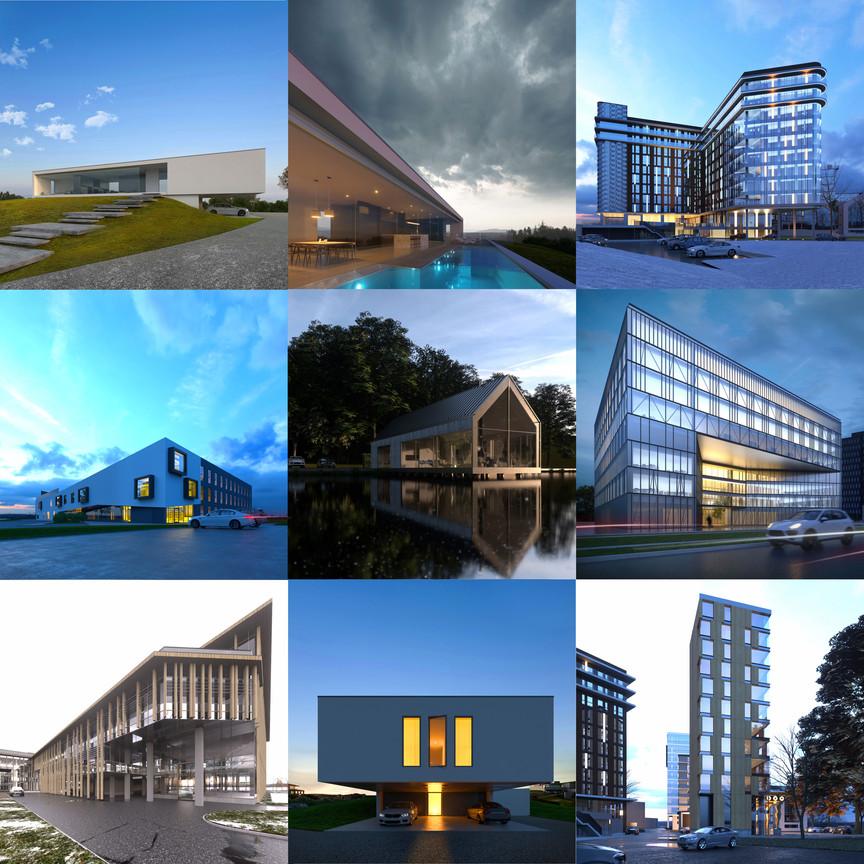 Arhitektūras vizualizācijas