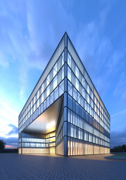 Office building visualisation