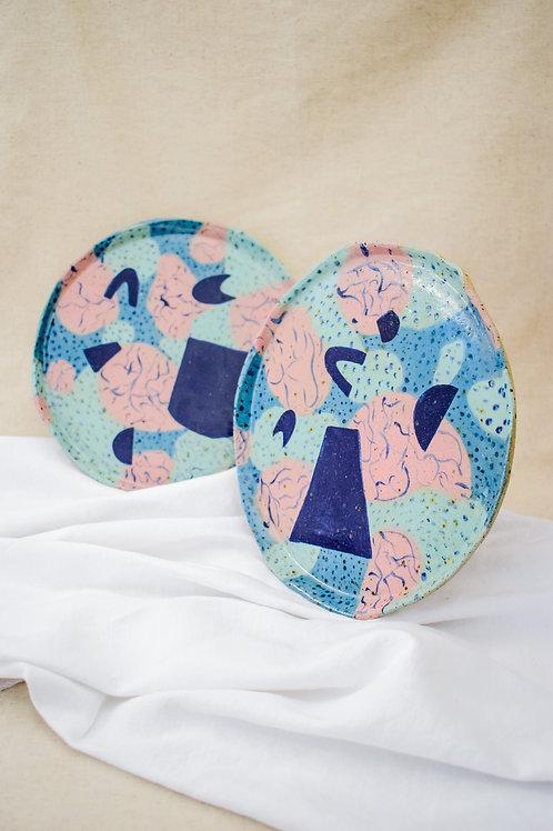 Ye o Nienil Large Waakye Ceramic Plate