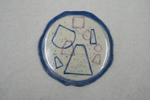 Serene Hill II Large Plate