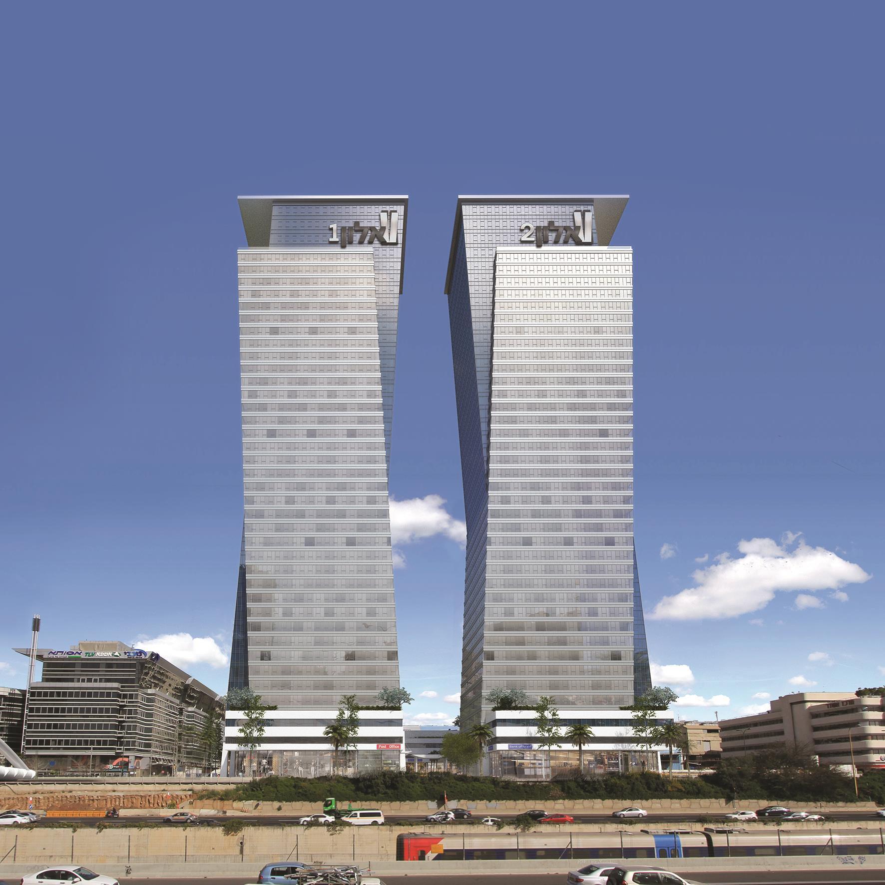 מגדלי אלון - משרדים