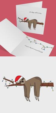 Sloth Christmas Card Mockup.jpg