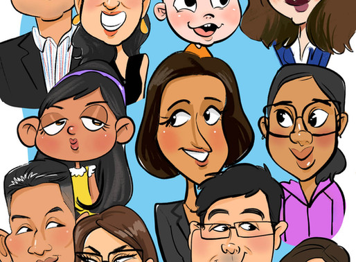 Family Caricatures: Fun for the Whole Family