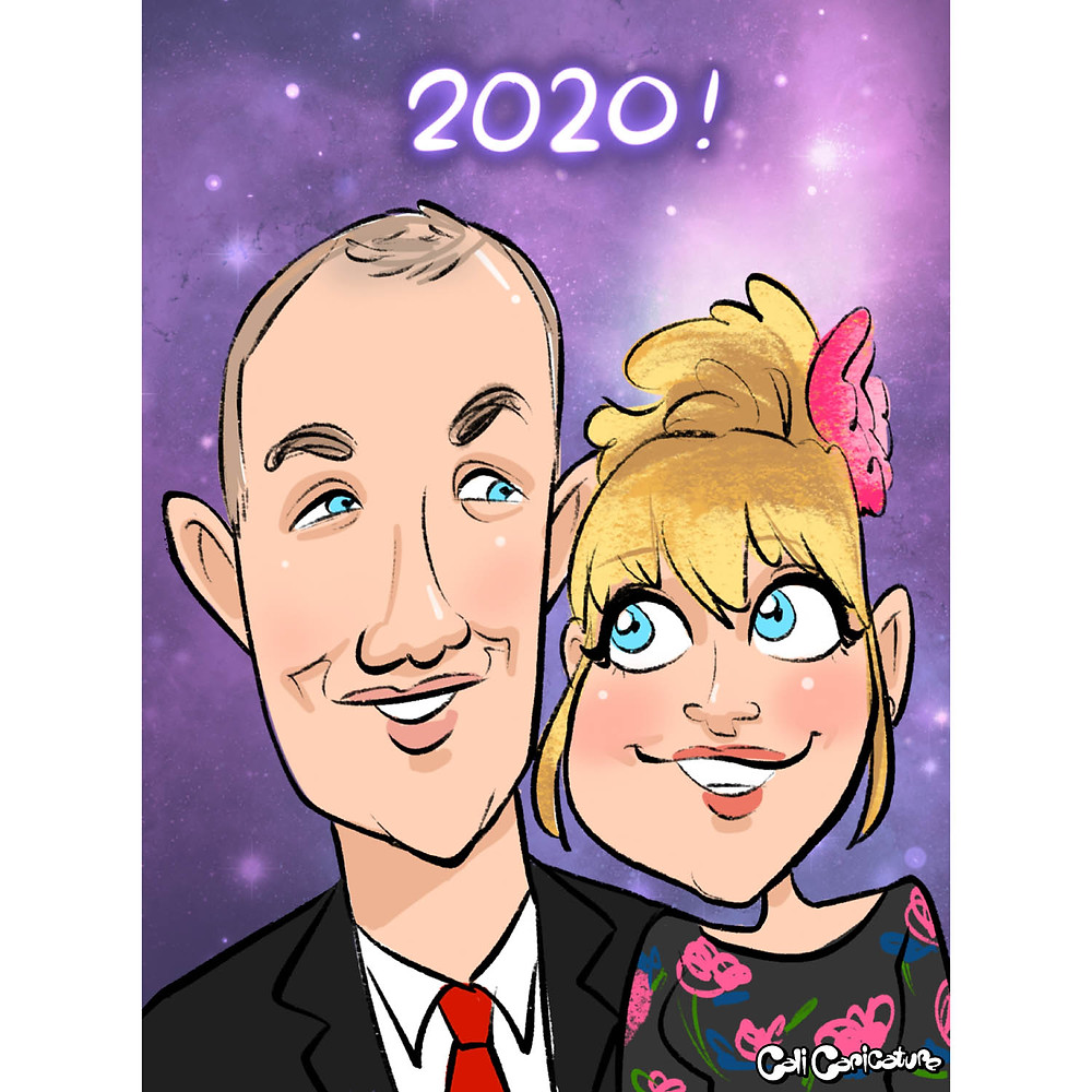 cute couple drawings drawing caricatures caricature couples cartoon faces portrait love romantic stars galaxy intergalactic star wars stars nebula smiles