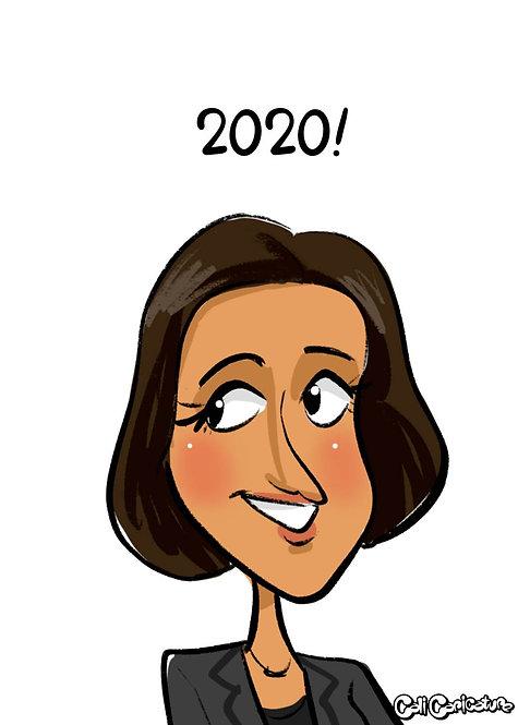 caricature cartoon face portrait cute couple drawings social media avatar profile picture logo