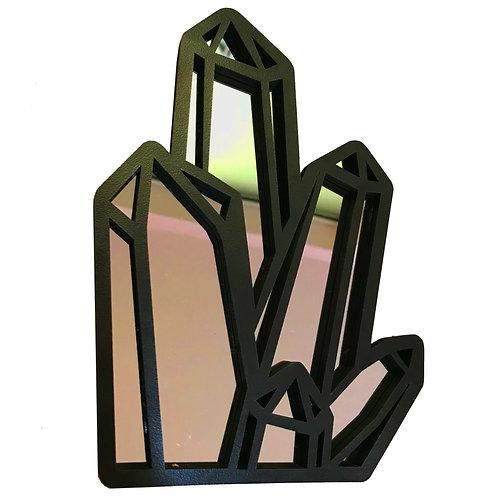 Espelho Cristal Zen Místico Esotérico 20cm