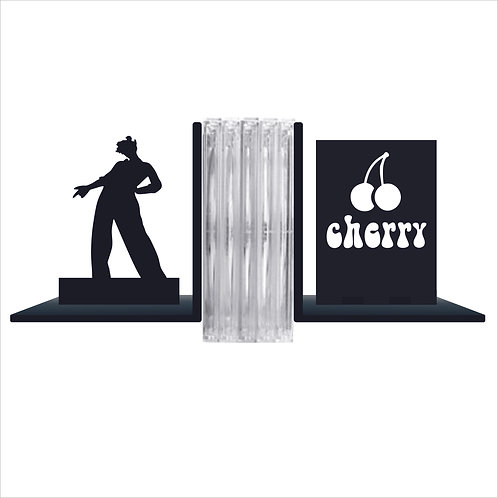 Porta Livro Cd Aparador Cantor Harry Styles 1d 10cm