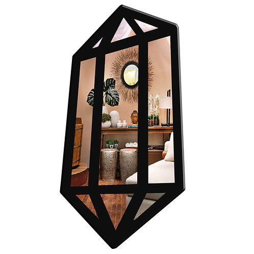 Espelho Diamante Zen Místico Esotérico 48cm