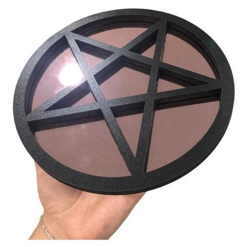 Espelho Pentagrama Esotérico 20cm