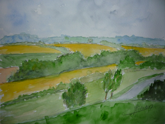 aquarelle_vallonnements_perche_13.5sur21