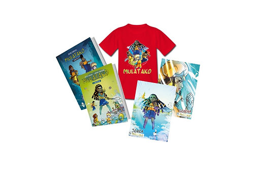 PACK MULATAKO XXL - Tomes 1 + Tome 2 + 1 T-shirt au choix + 2 posters au choix