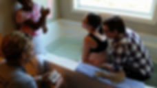 birth tub, water birth, birth coach, midwife, home birth, home birth midwife