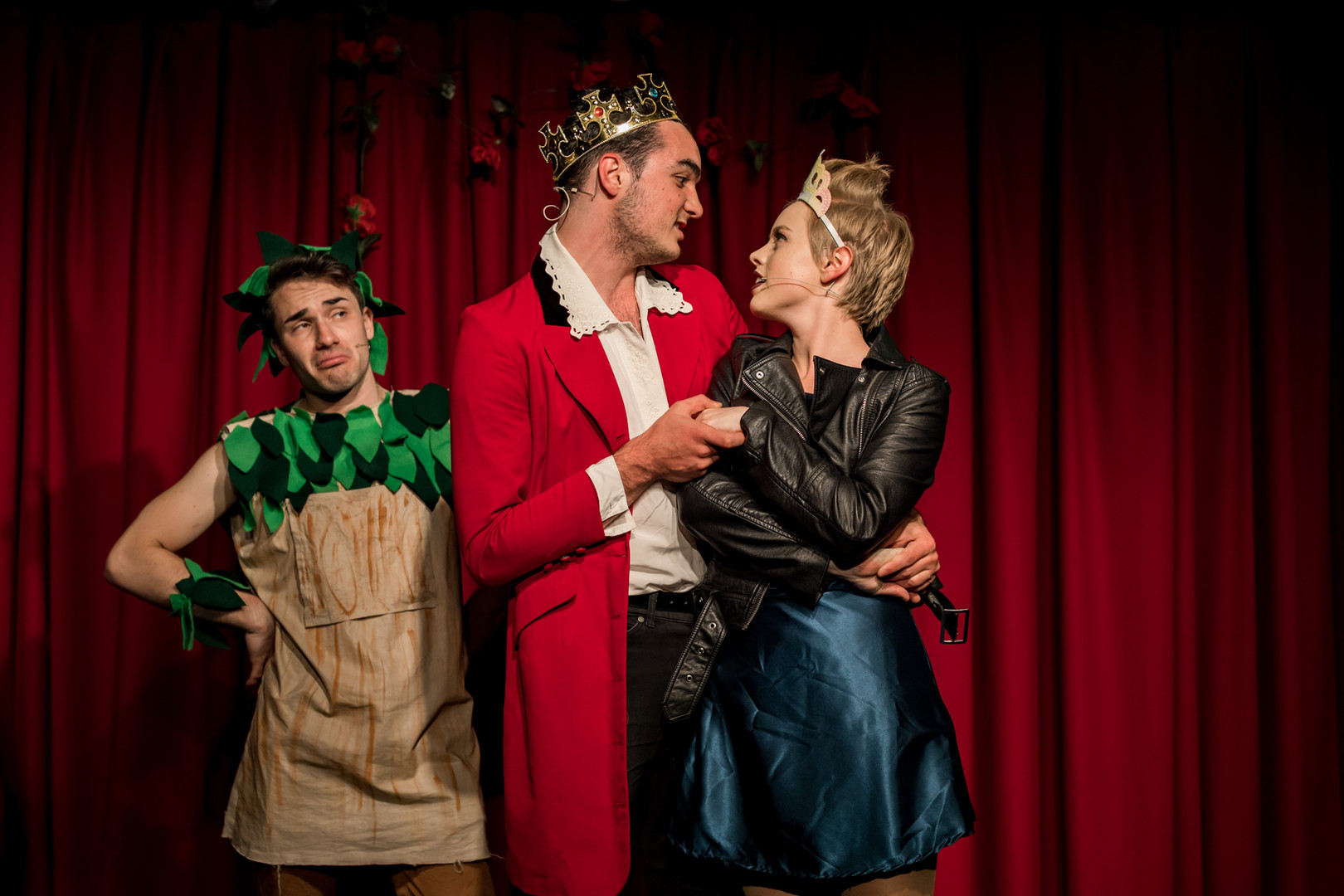 Prince Dick and Ophelia