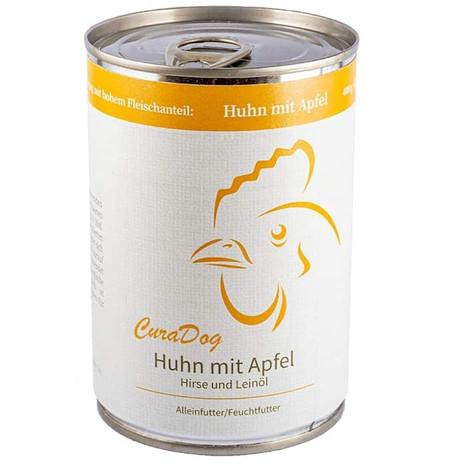 CuraDog Huhn Bio-Hundevollnahrung