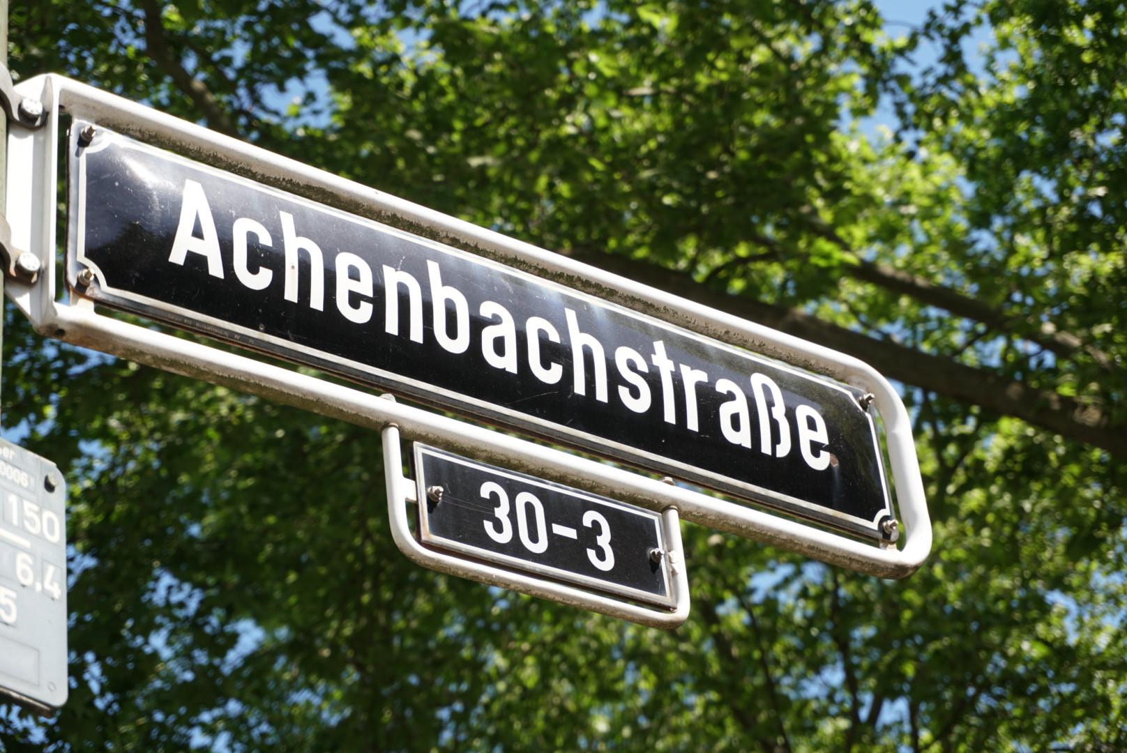 Bauvorhaben Achenbachstr.