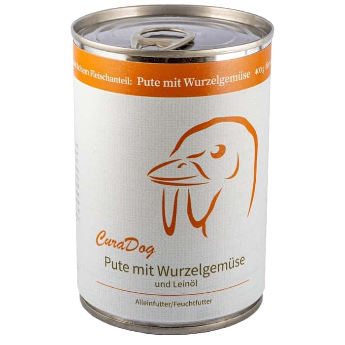 CuraDog Pute Bio-Hundevollnahrung