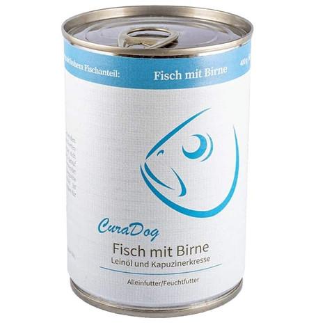 CuraDog Fisch Bio-Hundevollnahrung