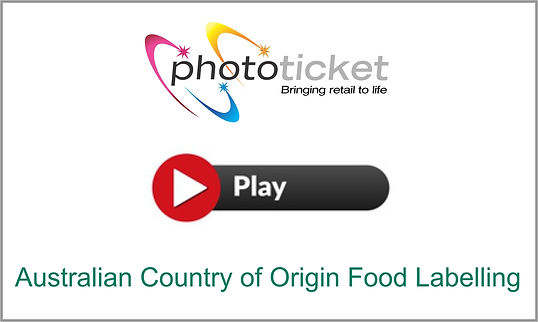 Watch this short video to see how Phototicket can assist with Australian Country of Origin Compliance