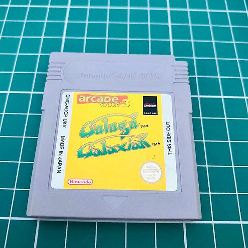 Arcade Classic 3 Galaga & Galaxian - Original Gameboy