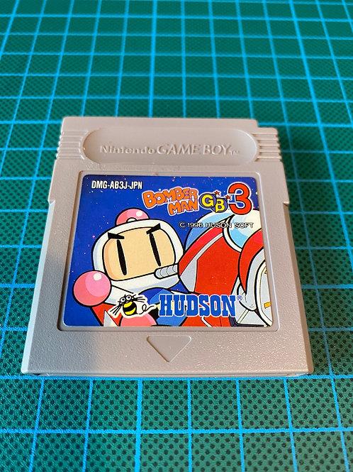 Bomberman GB 3 - Japanese Original Gameboy
