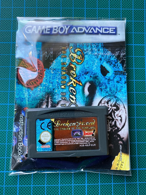 Broken Sword - Gameboy Advance