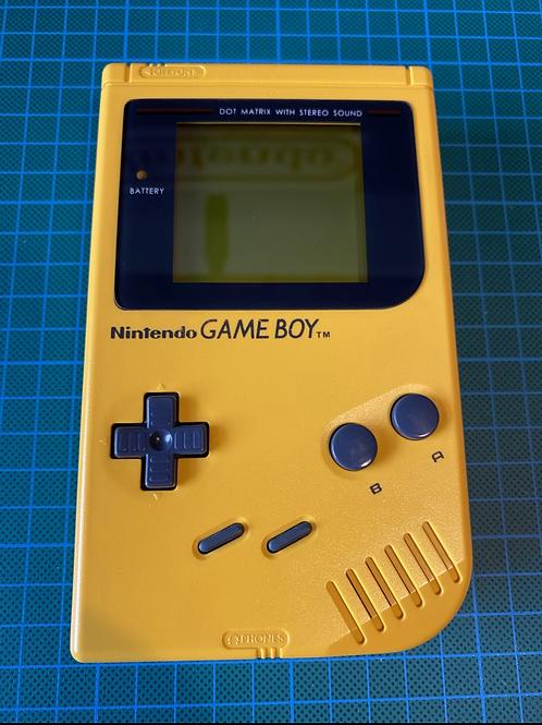 "Original Gameboy Play it Loud - ""Yellow"""