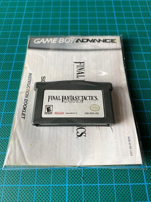 Final Fantasy Tactics - Gameboy Advance