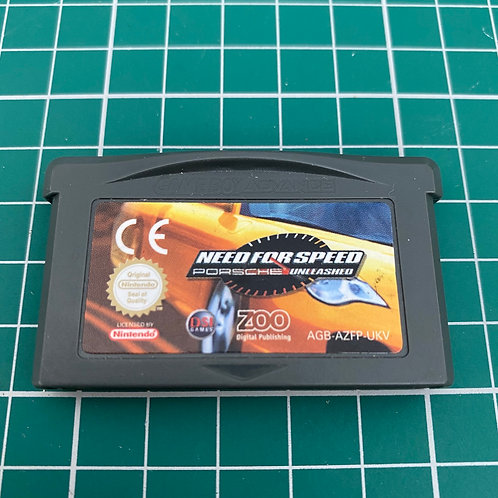 Need for Speed Porsche Unleashed - Gameboy Advance