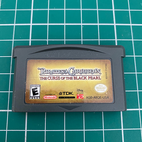 Pirates of the Caribbean The Curse of the Black Pearl - Gameboy Advance