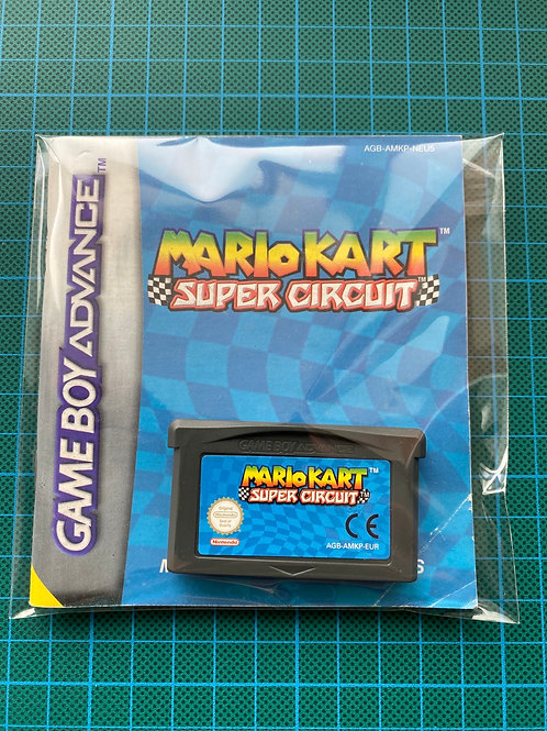 Mario Kart - Gameboy Advance