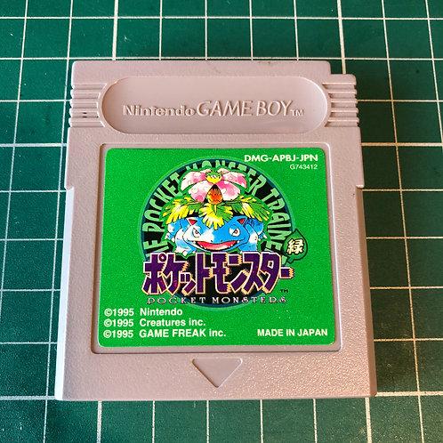 Japanese - Pokemon Green