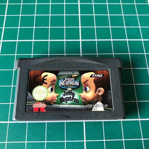 Jimmy Neutron vs Jimmy Negatron - Gameboy Advance