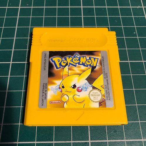 Pokemon Yellow - Original Gameboy