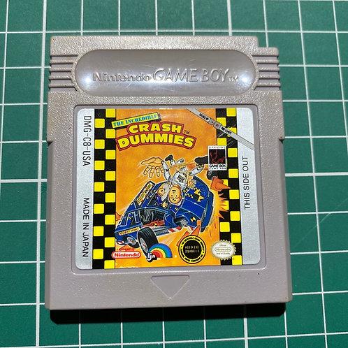 incredible Crash Dummies - Original Gameboy