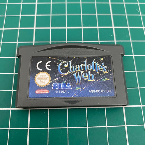 Charlotte's Web - Gameboy Advance