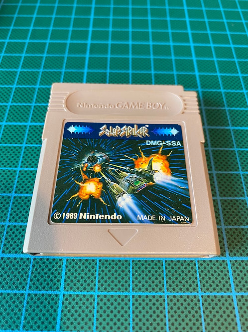 Solar Striker - Japanese Original Gameboy