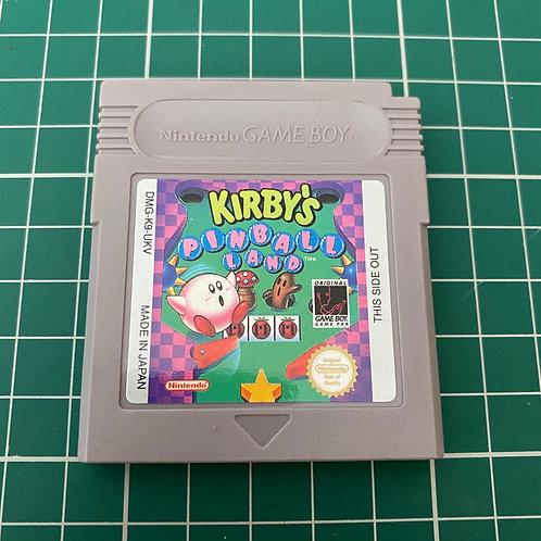 Kirby's Pinball Land - Original Gameboy