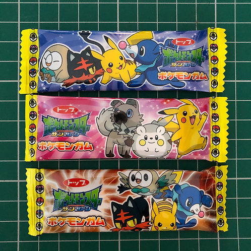 Pokemon Sun & Moon Big Strip Gum