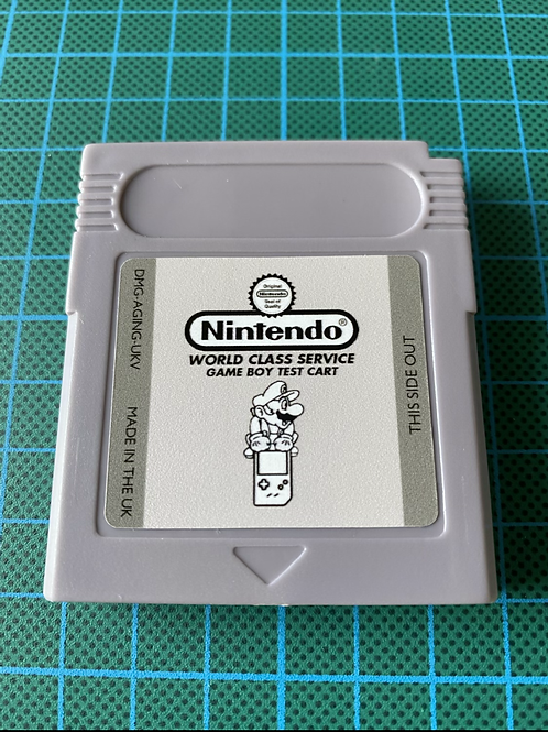 Gameboy Test Cartridge
