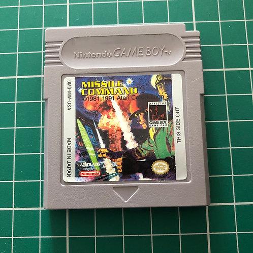 Missile Command - Original Gameboy