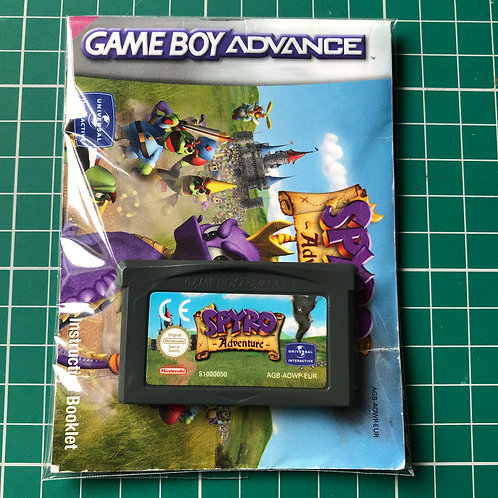 Spyro Adventure - Gameboy Advance