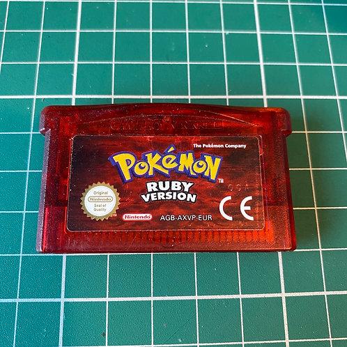 Pokemon Ruby - Gameboy Advance