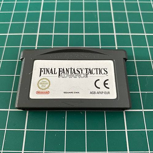 Final Fastasy Tactics - Gameboy Advance