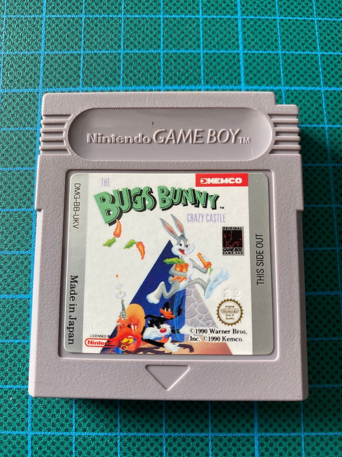 Bugs Bunny Crazy Castle - Original Gameboy