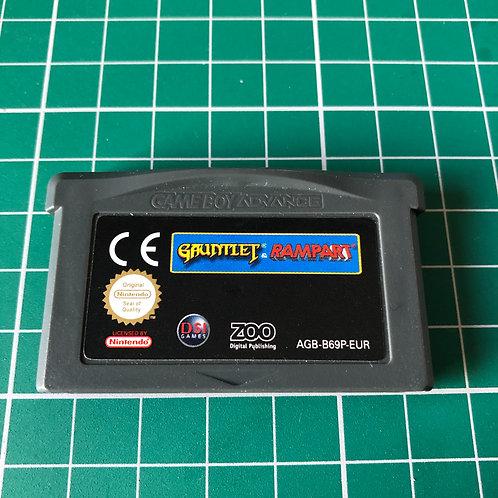 Gauntlet and Rampart - Gameboy Advance